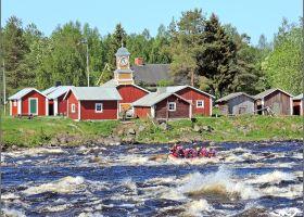 Kukkolankoski on Suomen suurin koski